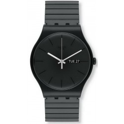 Swatch Unisex Watch New Gent Mistery Life L SUOB708A
