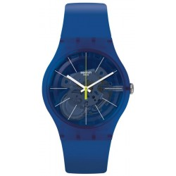 Swatch Unisex Watch New Gent Blue Sirup SUON142