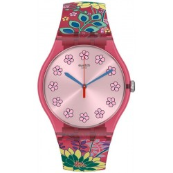 Swatch Ladies Watch New Gent Dhabiscus SUOP112