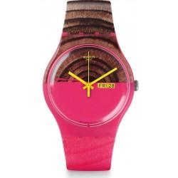 Swatch Ladies Watch New Gent Woodkid SUOP703