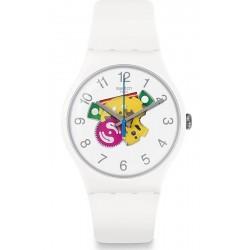 Swatch Unisex Watch New Gent Candinette SUOW148