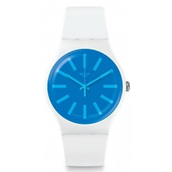 Swatch Unisex Watch New Gent Glaceon SUOW163