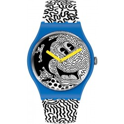 Buy Swatch Mickey Mouse Watch Eclectic Mickey SUOZ336