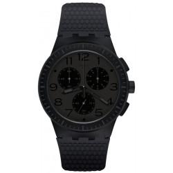 Swatch Unisex Watch Chrono Plastic Piege SUSB104 Chronograph