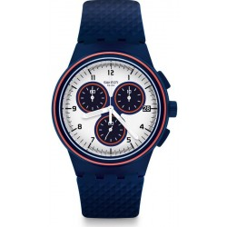 Buy Swatch Men's Watch Chrono Plastic Parabordo SUSN412 Chronograph