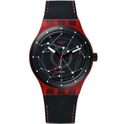 Swatch Unisex Watch Sistem51 Sistem Red SUTR400 Automatic