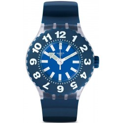 Swatch Men's Watch Scuba Libre Die Blaue SUUK112