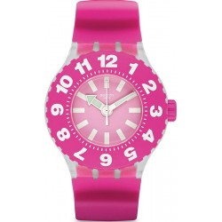 Swatch Ladies Watch Scuba Libre Die Rose SUUK113