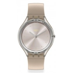 Buy Swatch Ladies Watch Skin Regular Skin Cloud SVOK109
