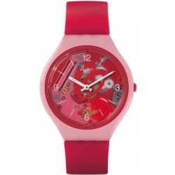 Buy Swatch Ladies Watch Skin Regular Skinamour SVOP100