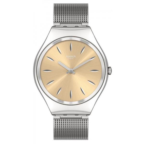 Buy Swatch Unisex Watch Skin Irony Skingoldenblink SYXS133M