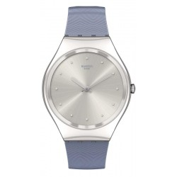Buy Swatch Ladies Watch Skin Irony Blue Moire SYXS134