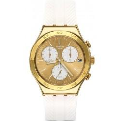 Buy Swatch Ladies Watch Irony Chrono Soukaina YCG415 Chronograph
