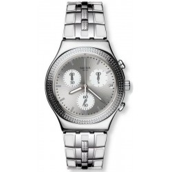 Buy Swatch Ladies Watch Irony Chrono Crystal Cascade YCS580G Chronograph