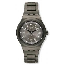 Buy Swatch Men's Watch Irony Sistem51 Sistem Brushed YIM400G Automatic