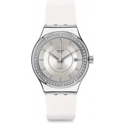Buy Swatch Ladies Watch Irony Sistem51 Sistem Snow YIS406 Automatic