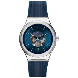 Buy Swatch Unisex Watch Irony Sistem51 Blurang YIS430 Automatic