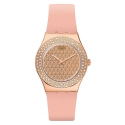 Swatch Ladies Watch Irony Medium Pink Confusion YLG140