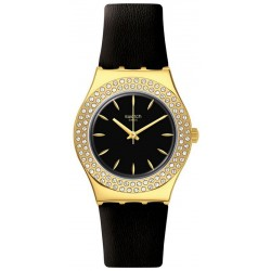 Swatch Ladies Watch Irony Medium Goldy Show YLG141