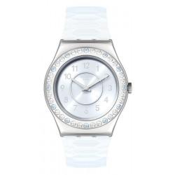 Swatch Ladies Watch Irony Medium Precious Aqua YLS226