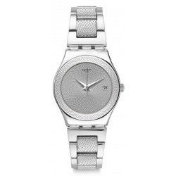 Swatch Ladies Watch Irony Medium Classy Silver YLS466G