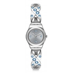 Buy Swatch Ladies Watch Irony Lady Silver Hug YSS332G