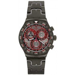 Swatch Men's Watch Irony Chrono Crazy Drive YVM406G Chronograph