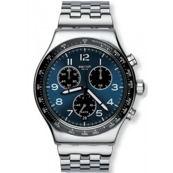 Swatch Men's Watch Irony Chrono Boxengasse YVS423G Chronograph