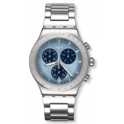 Swatch Men's Watch Irony Chrono Sky Icon YVS459G Chronograph