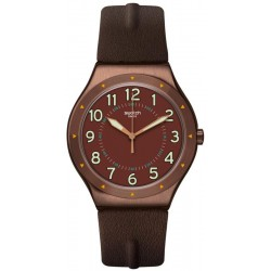 Buy Swatch Mens Watch Irony Big Classic Copper Time YWC100