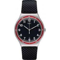 Swatch Men's Watch Irony Big Classic Red Wheel YWS417