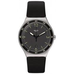 Swatch Unisex Watch Irony Black Suit Big Classic YWS454