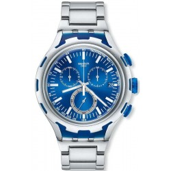 Swatch Men's Watch Irony Xlite Endless Energy YYS4001AG Chronograph