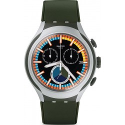Swatch Men's Watch Irony Xlite Moss YYS4009 Chronograph