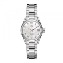 Tag Heuer Carrera Ladies Watch WAR2414.BA0776 Diamonds Automatic