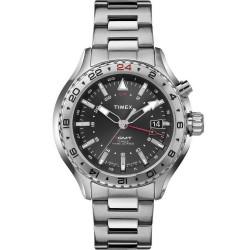 Buy Timex Men's Watch Intelligent Quartz GMT T2P424